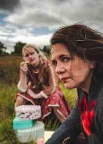 Melanie (right) as Tannie. Photo:Jody Cliffe